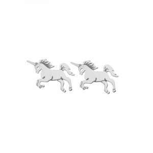 Earrings Stylish Jumping Unicorn