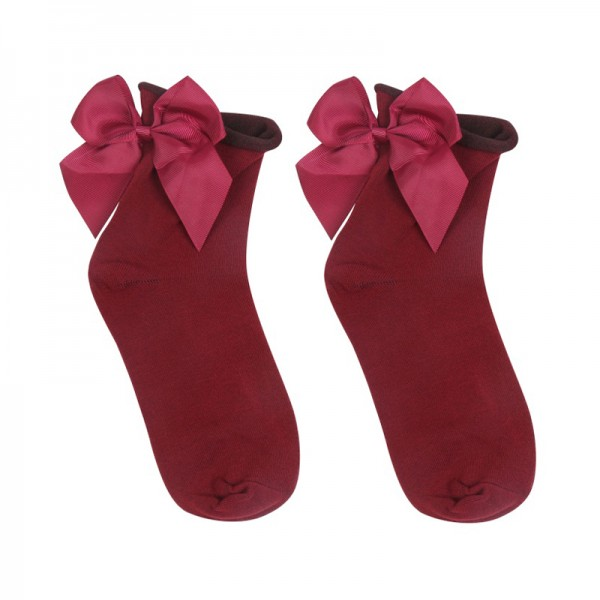 Yehwang Accessories, Sock Cute Bow