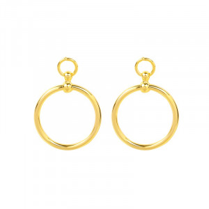 Earrings Massive Circle