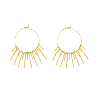 Earrings Stylish Sun