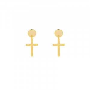 Earrings Mini Crosses