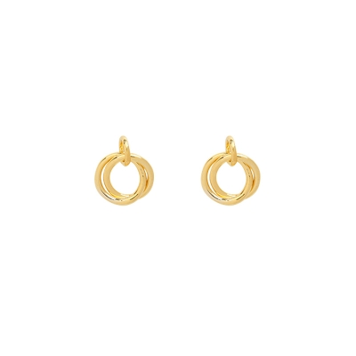 Earrings Mini Open Circles