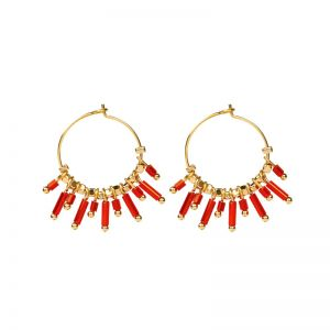 Earrings Happy Creoles