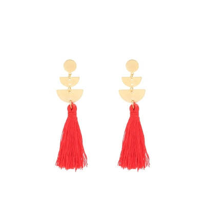 Earrings Cool Tassel