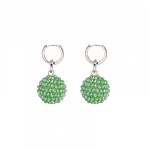 Earrings Glitter Globe