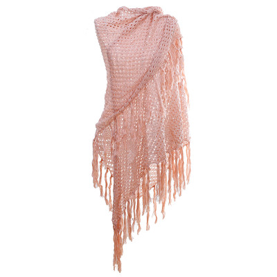 Scarf long fringes