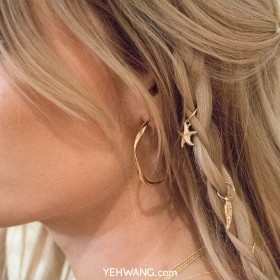 Earrings Crafted Hoops