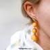 Yehwang Accessories, Earrings Colorful Circles