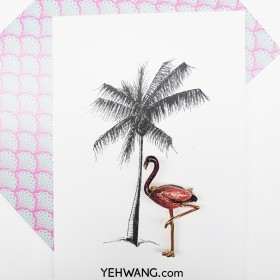 Broche Fabulous Flamingo