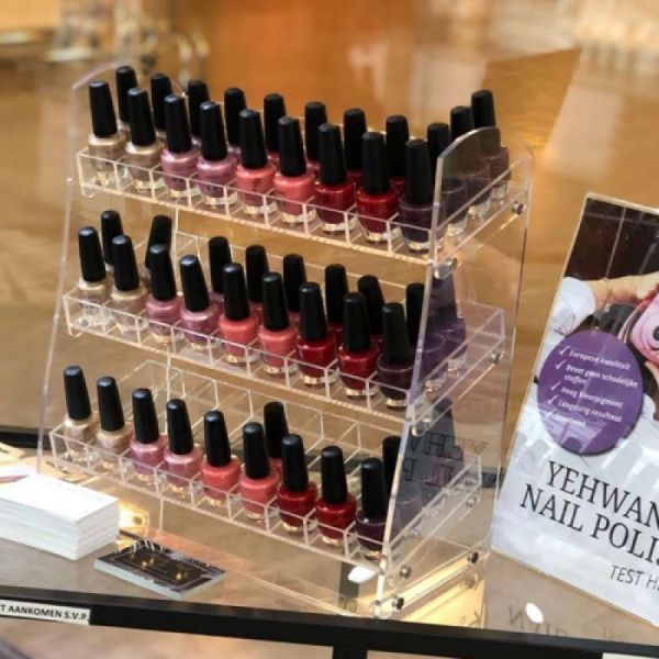 Yehwang nailpolish display