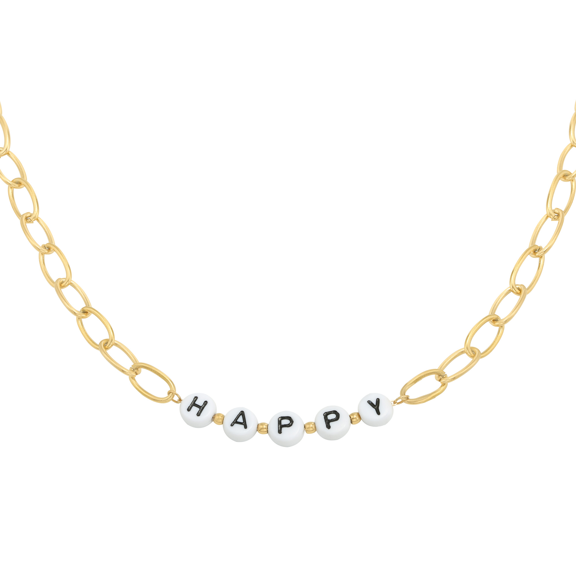 Collier Beads Happy