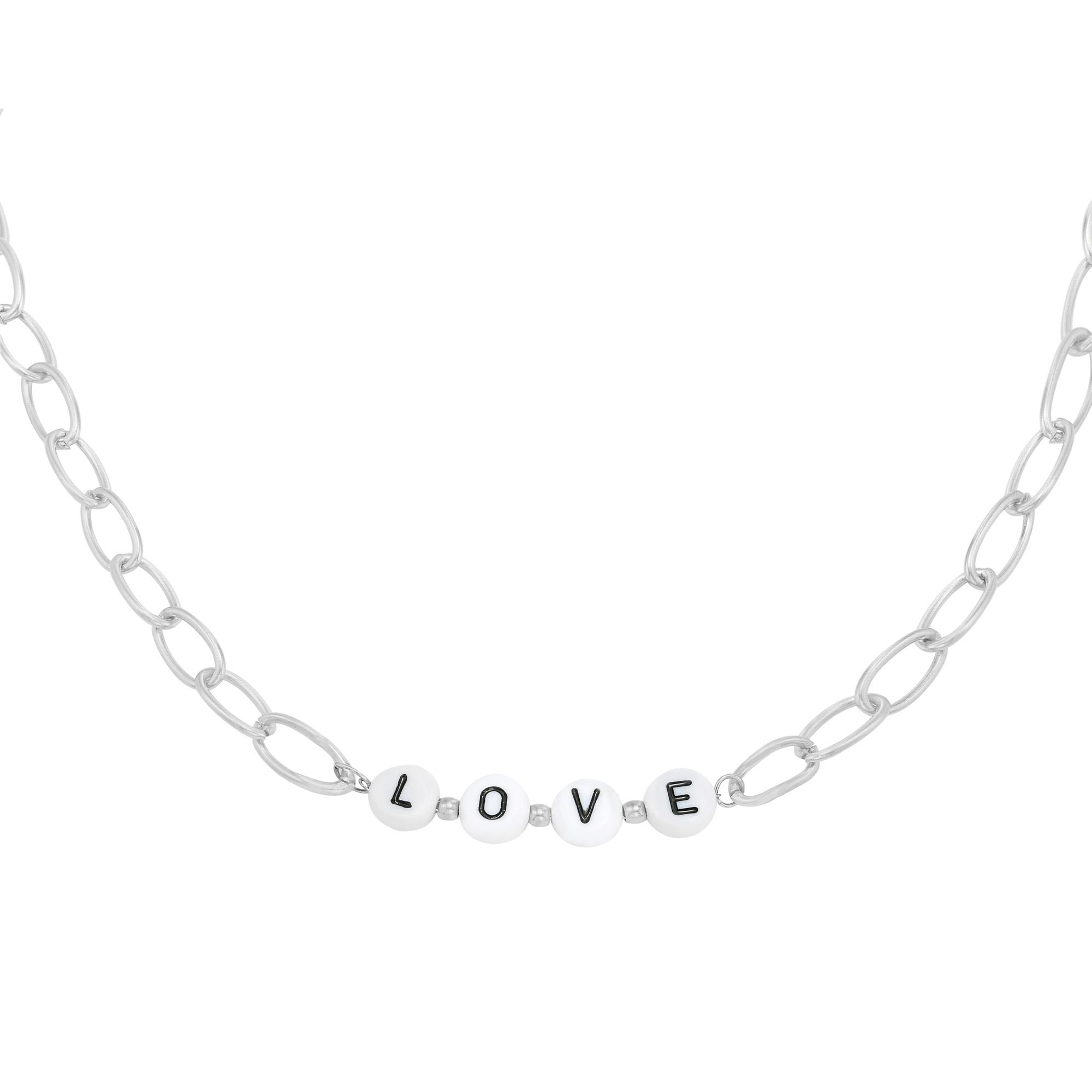Ketting Beads Love