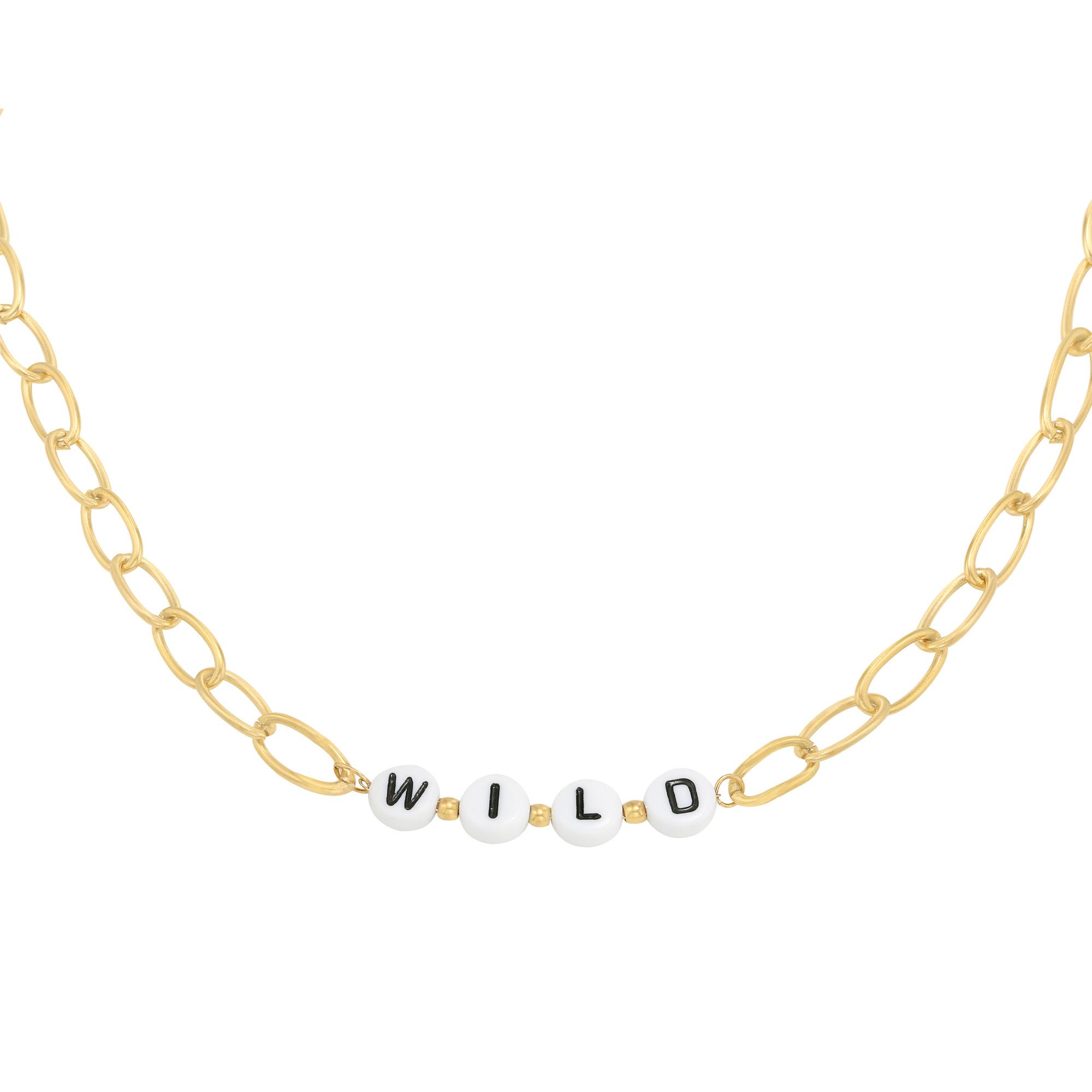 Halskette beads wild
