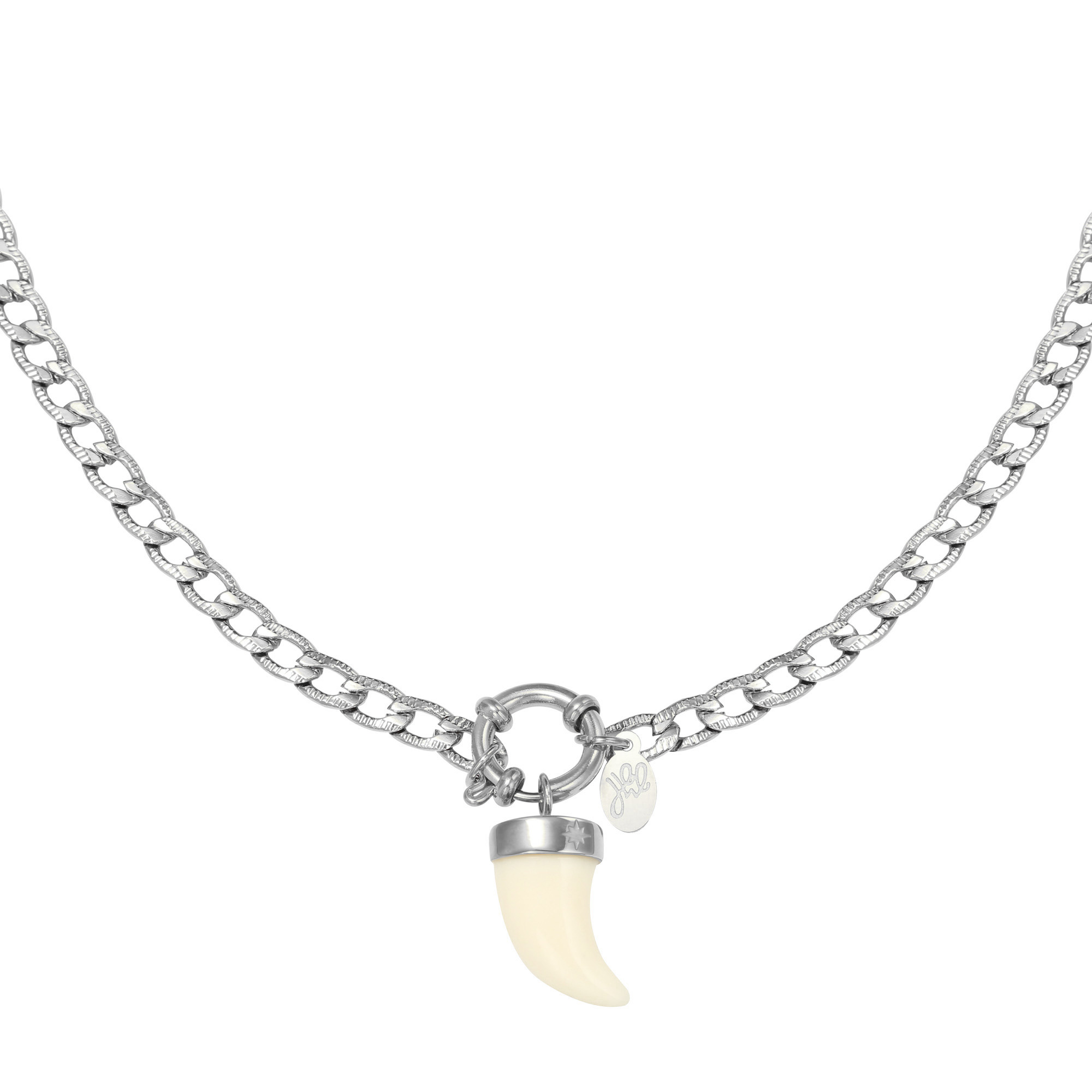 Collier Ivory Horn