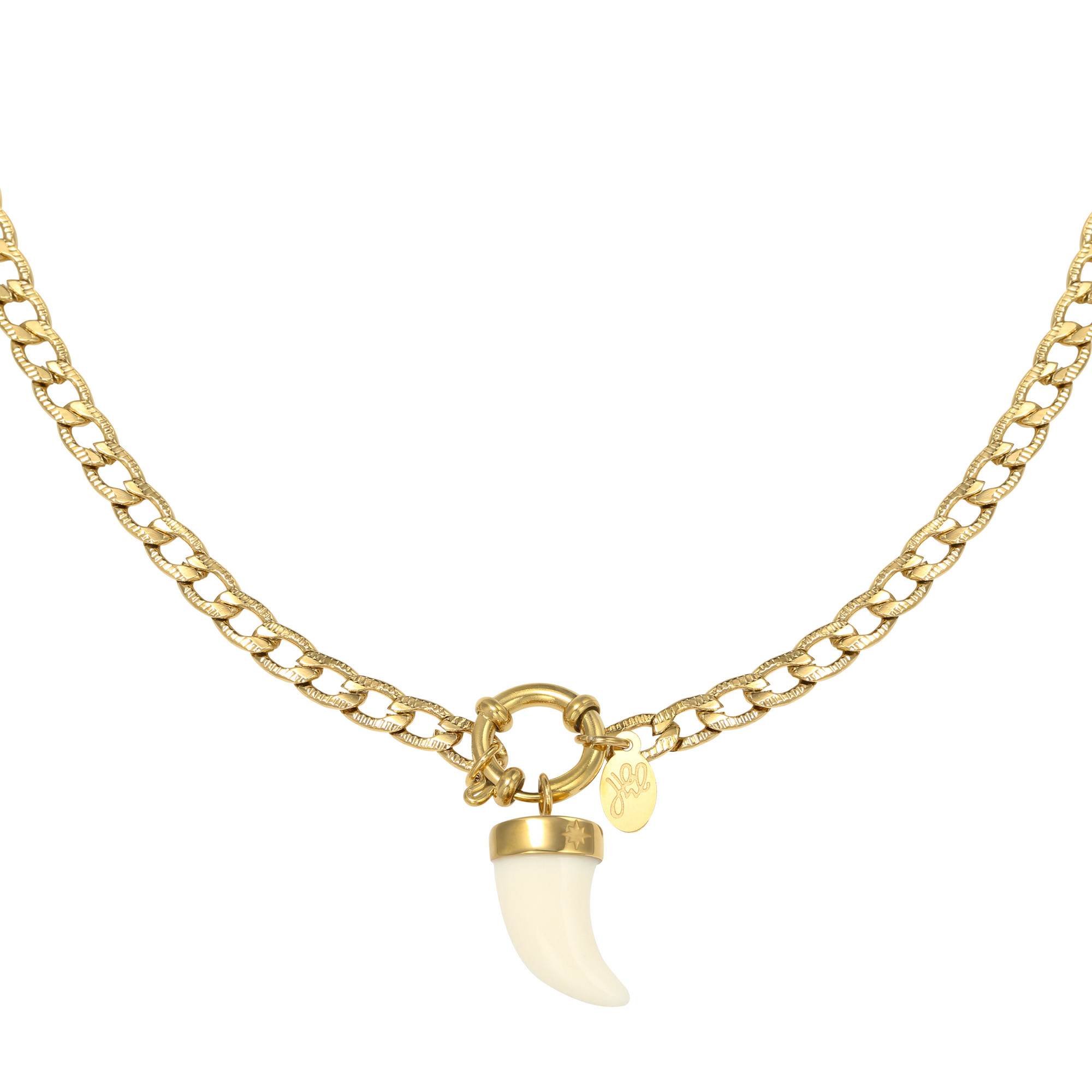 Necklace Ivory Horn
