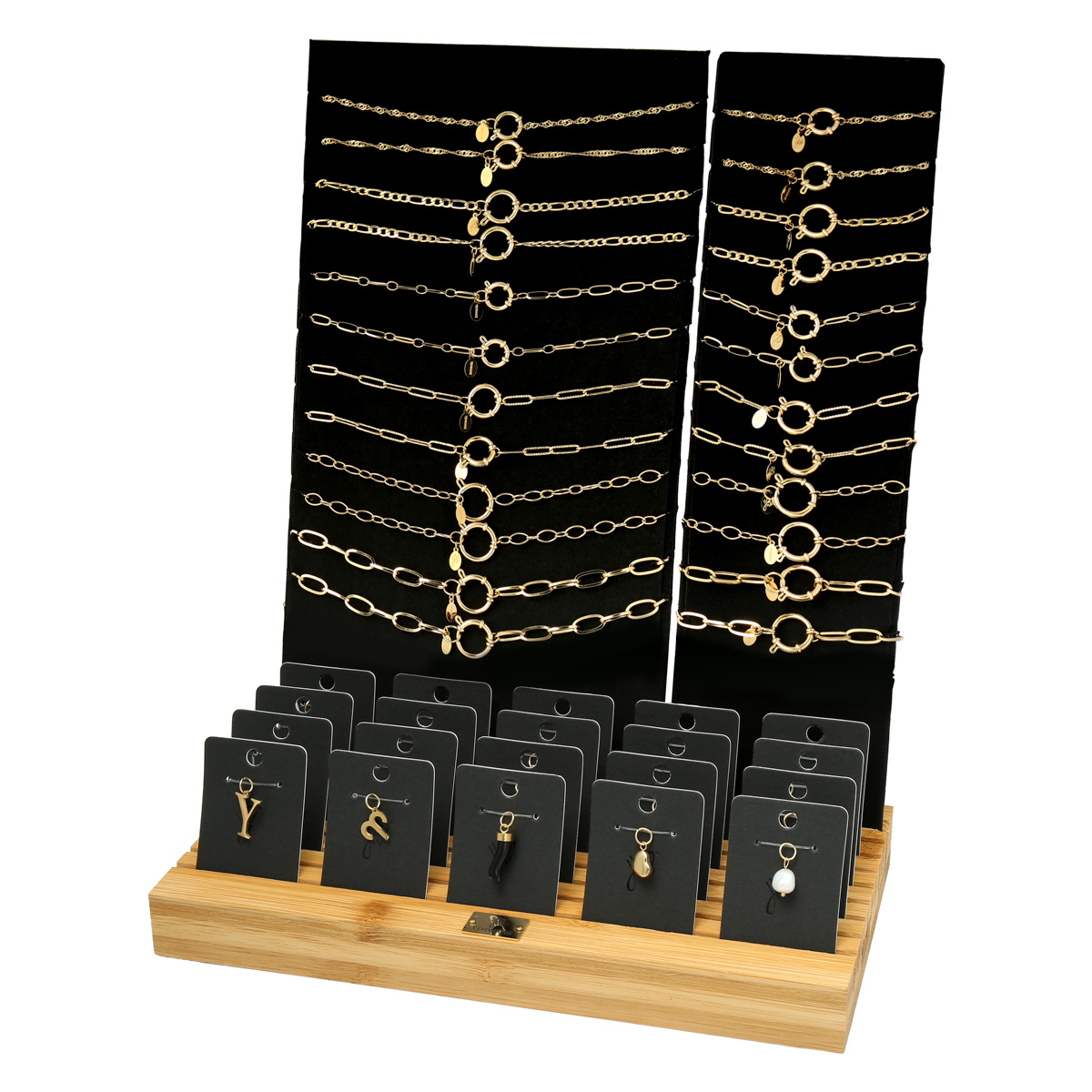 Display Set Chains & Charms