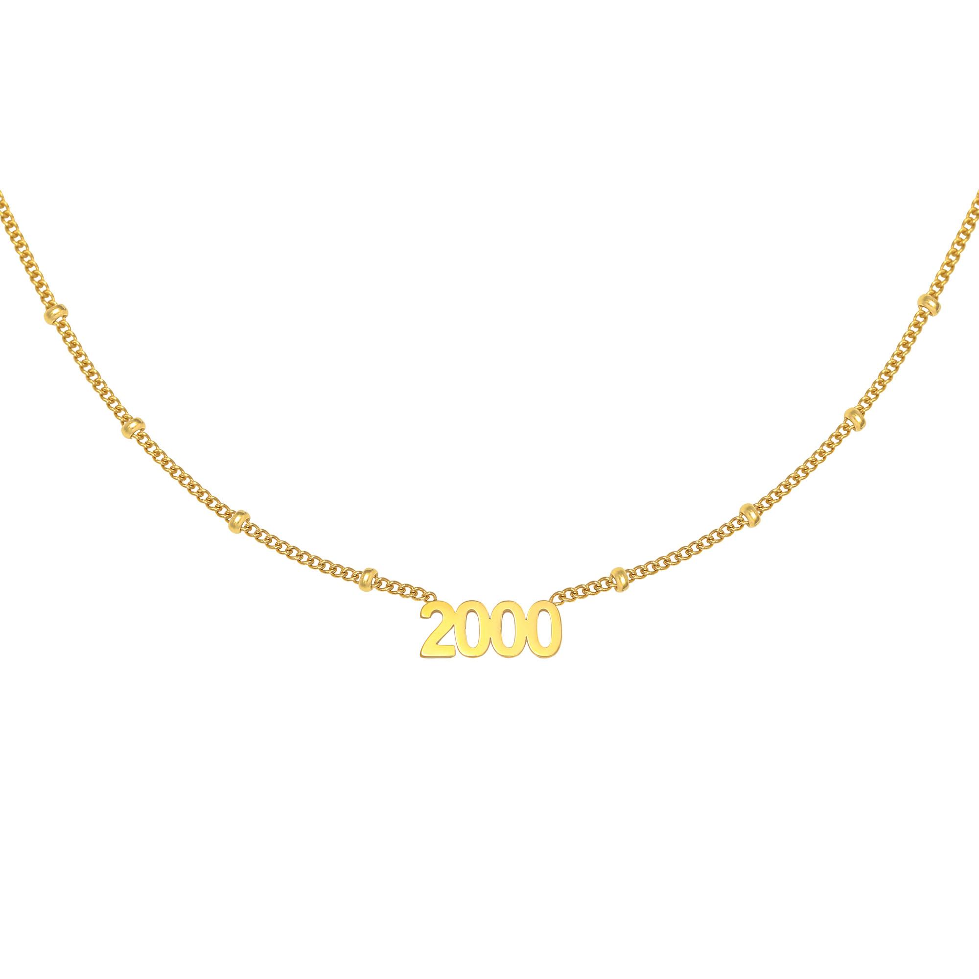 Halskette year 2000