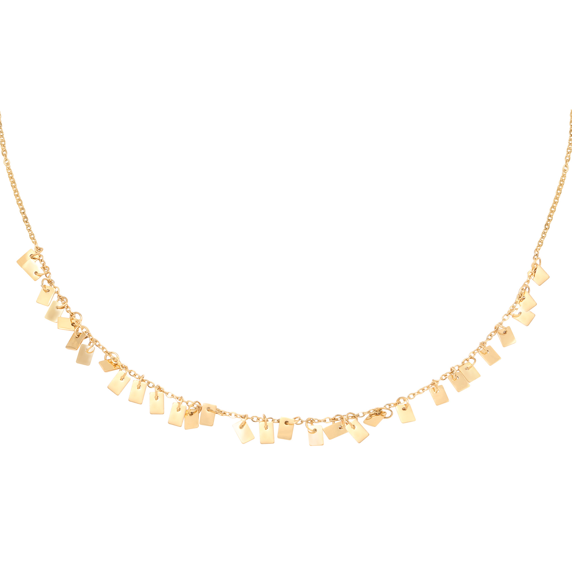 Collier Floating Rectangles