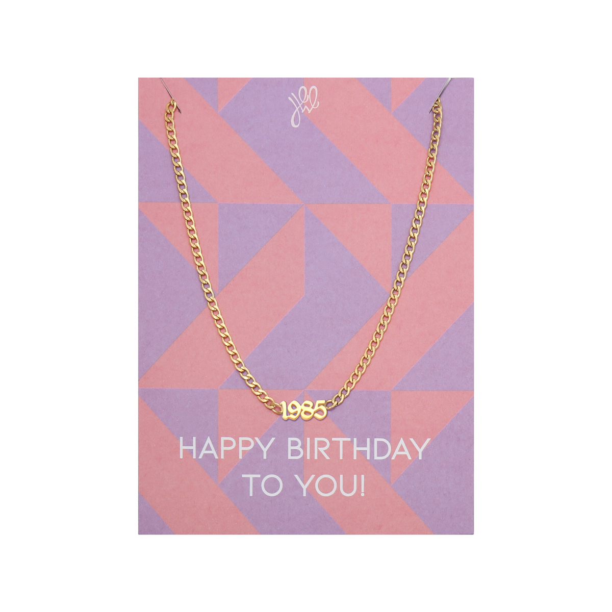 Ketting Happy Year Of Birth - 1989