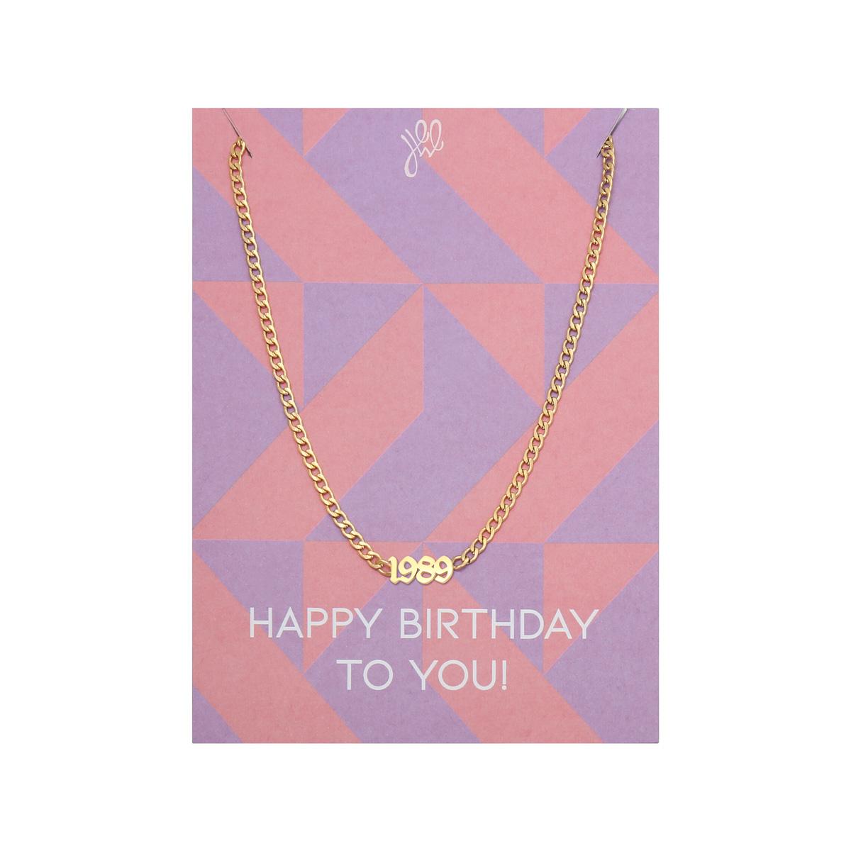 Ketting Happy Year Of Birth- 1993