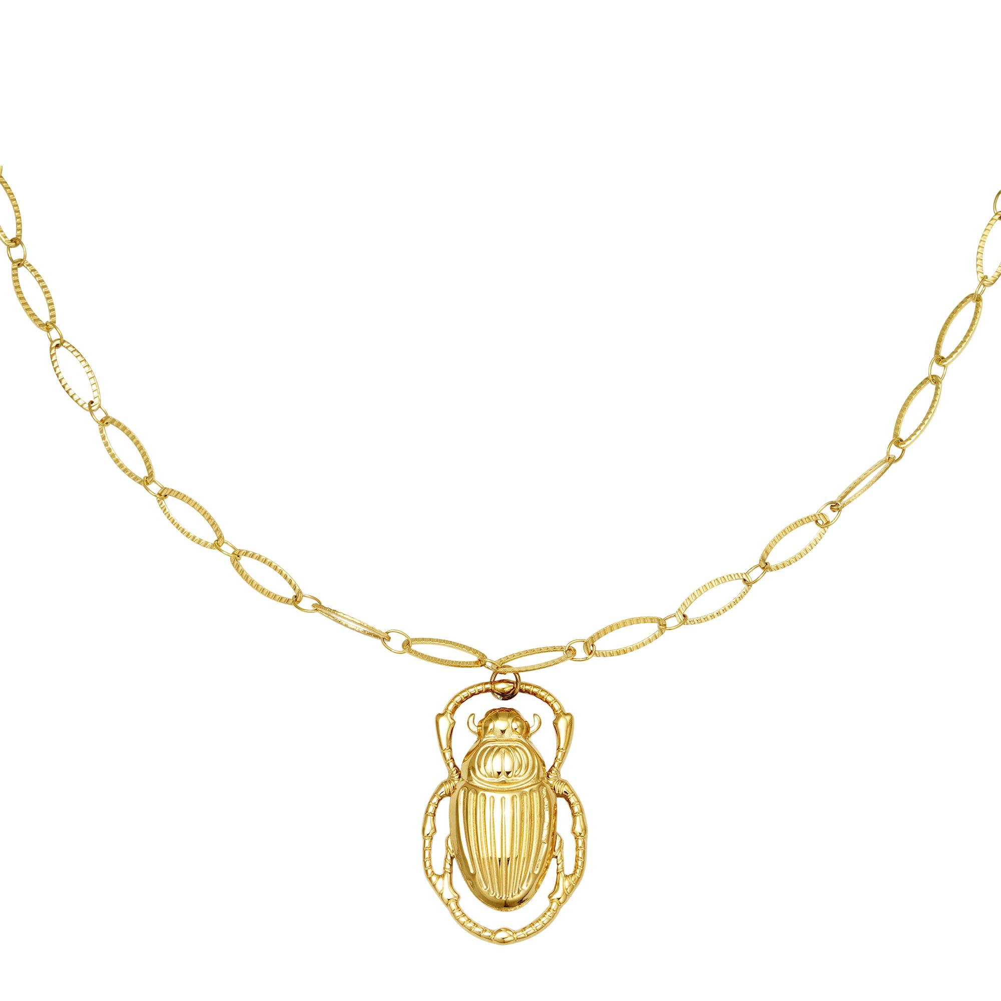 Halskette scarab