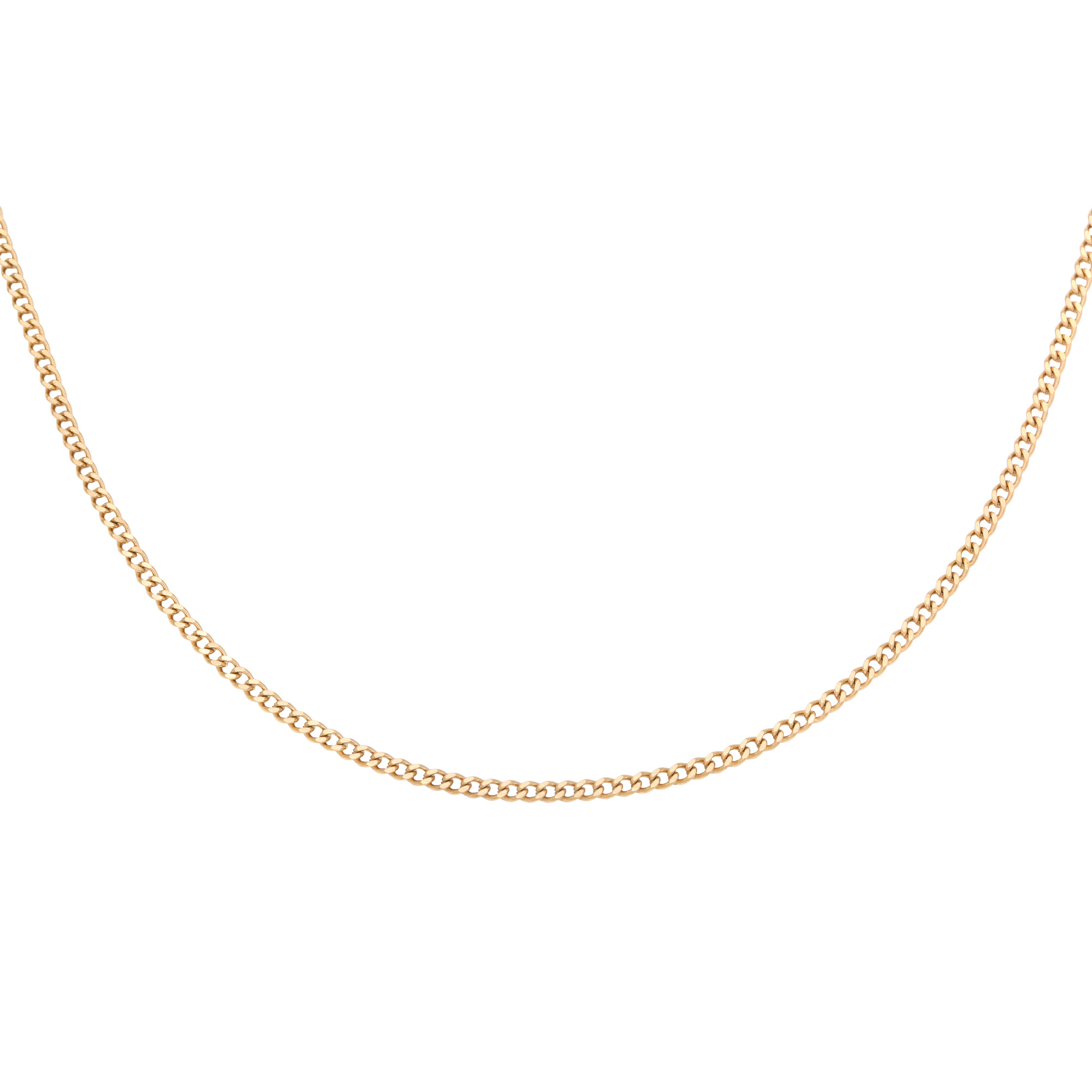 Collar Tiny Plain Chains