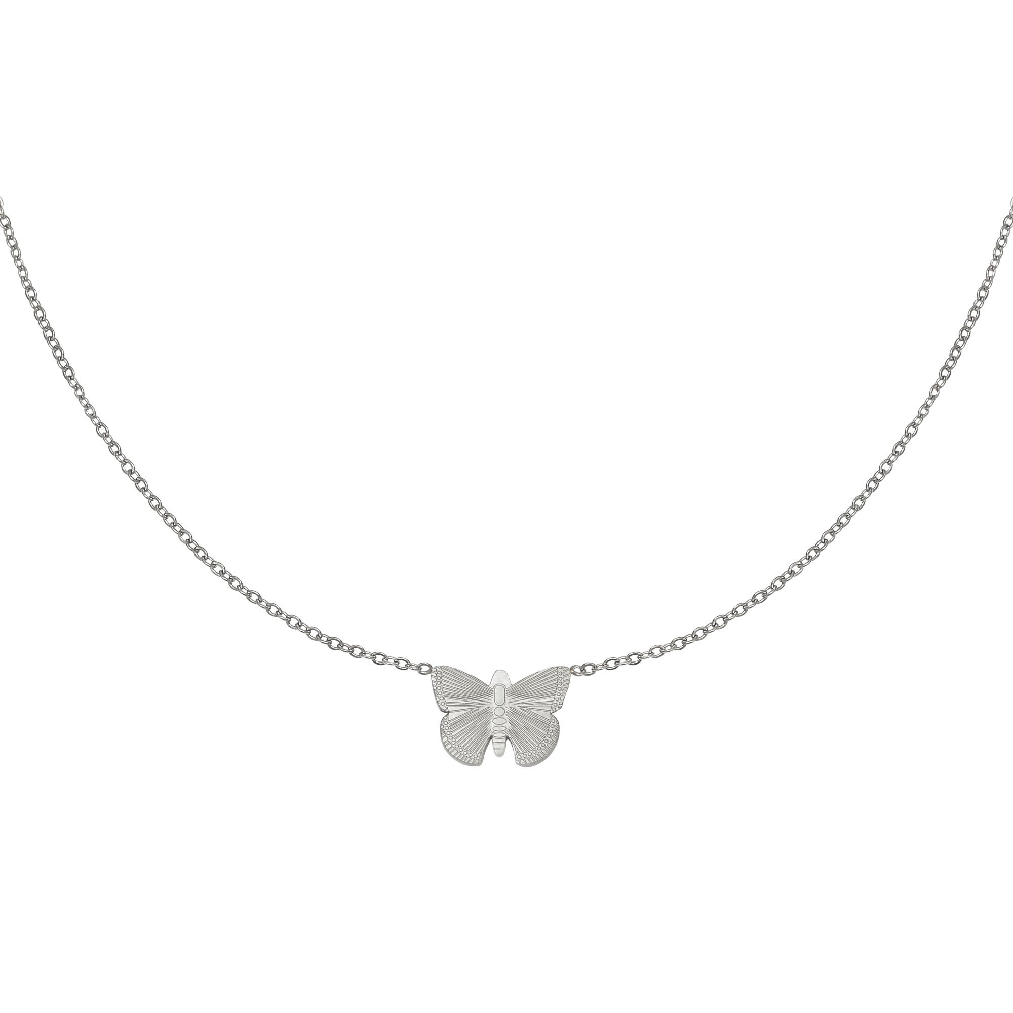 Halskette butterfly
