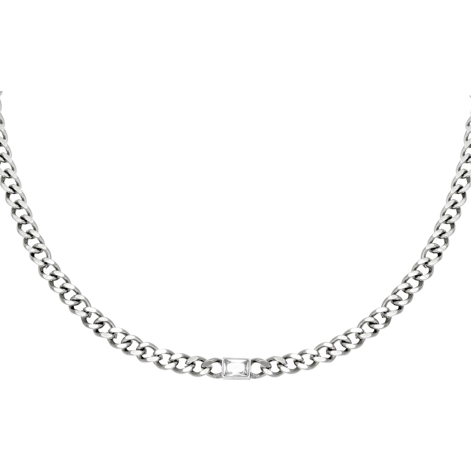 Halskette diamond in chain