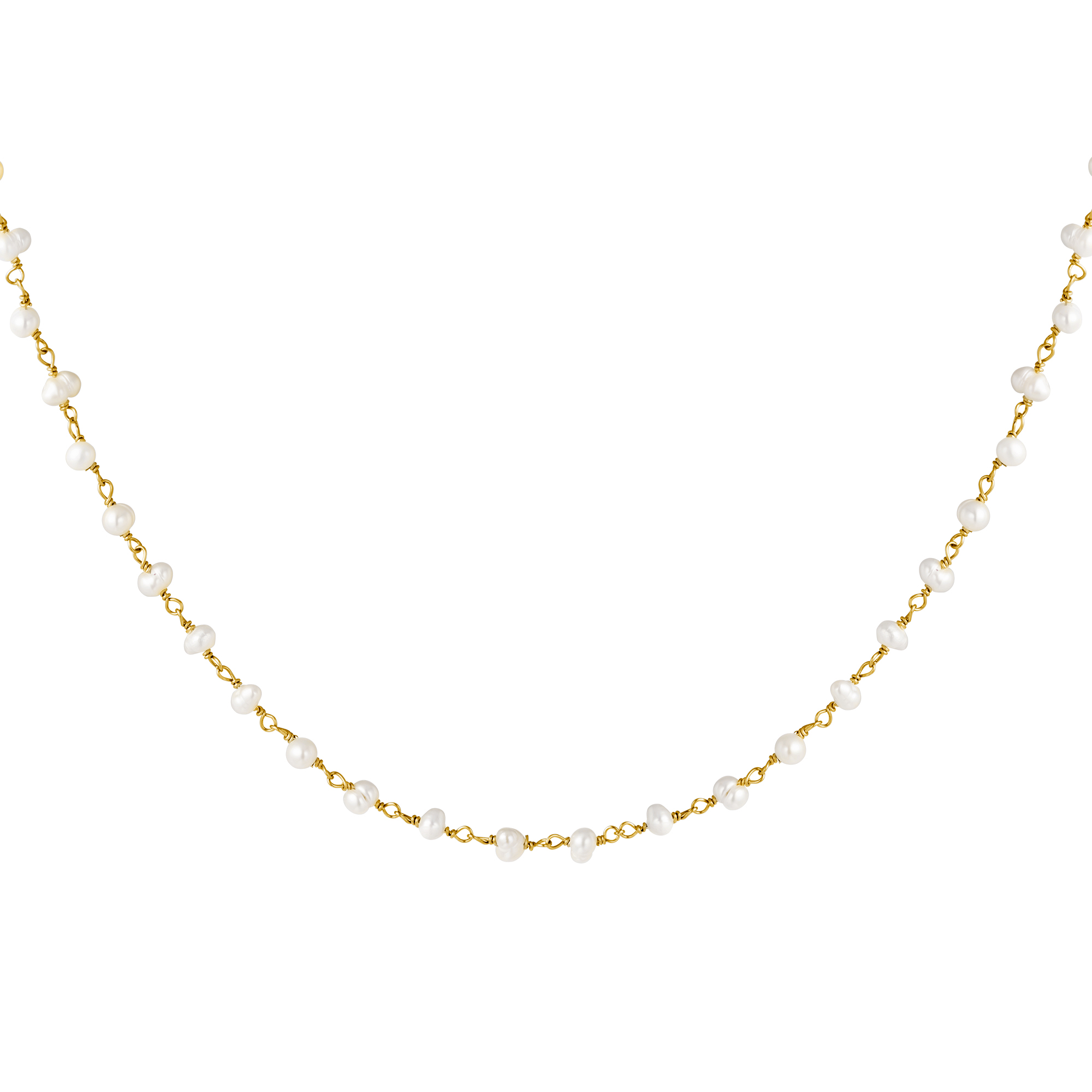 Ketting Chain of Pearls