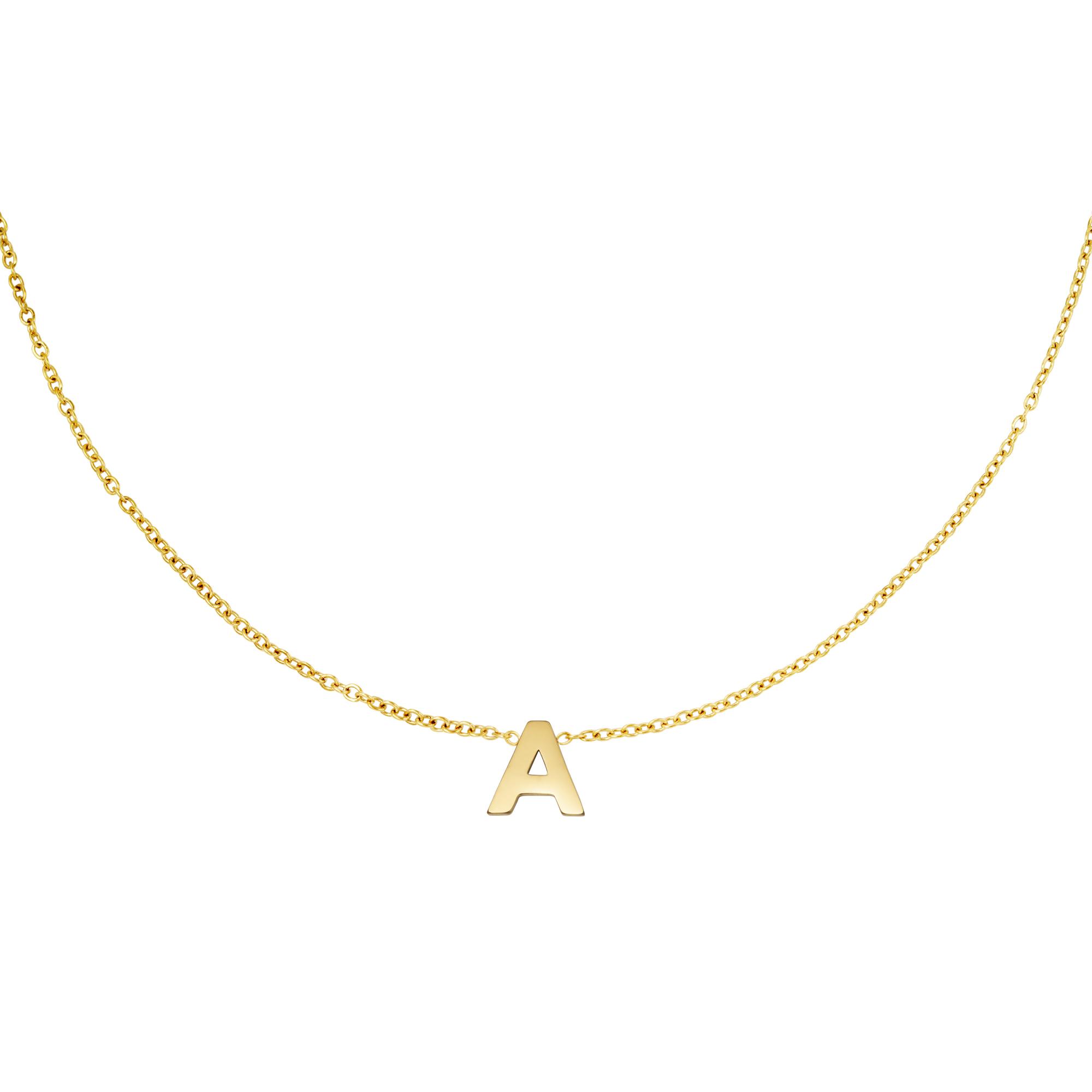 Collier en acier inoxydable initiale T