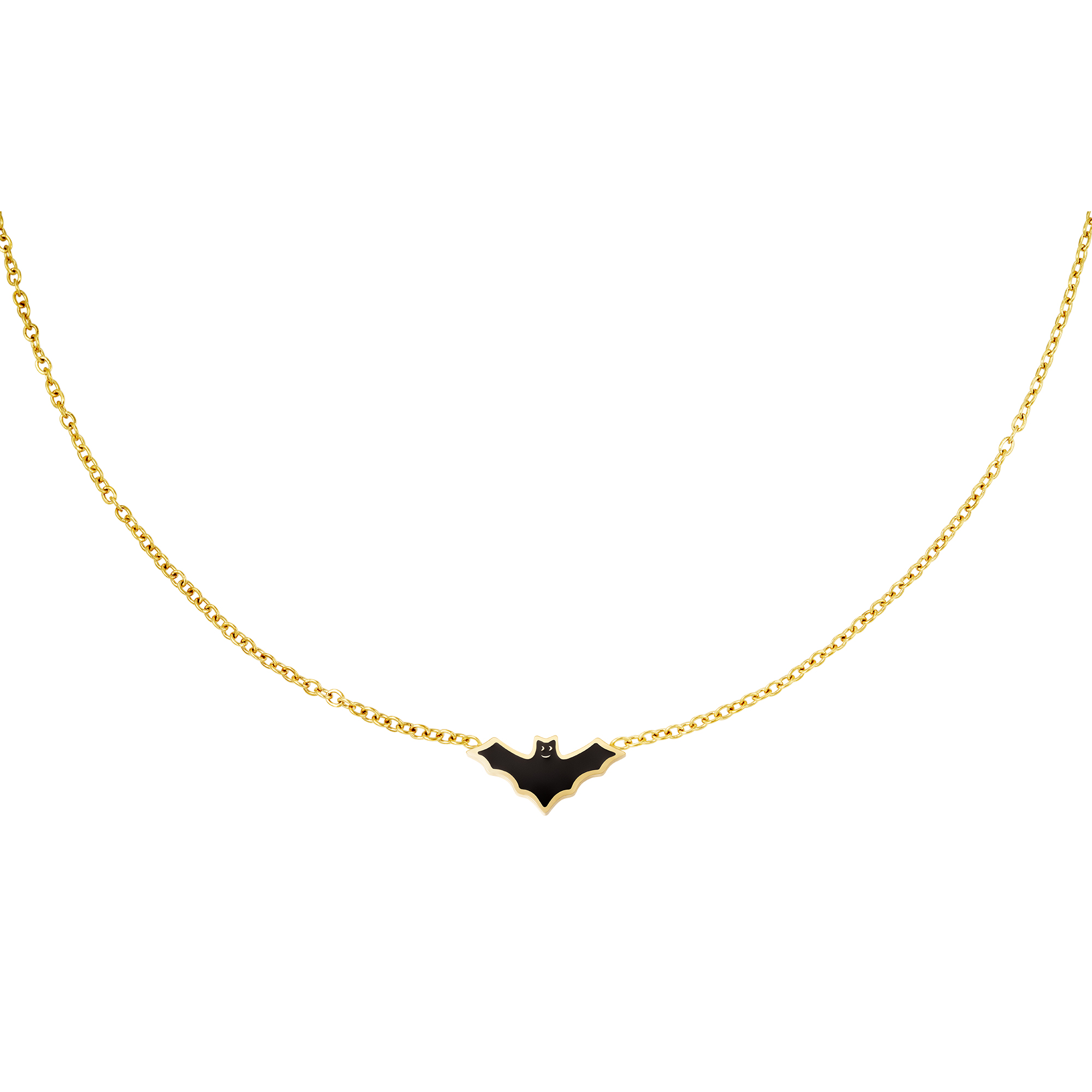 Murciélago de collar de acero inoxidable