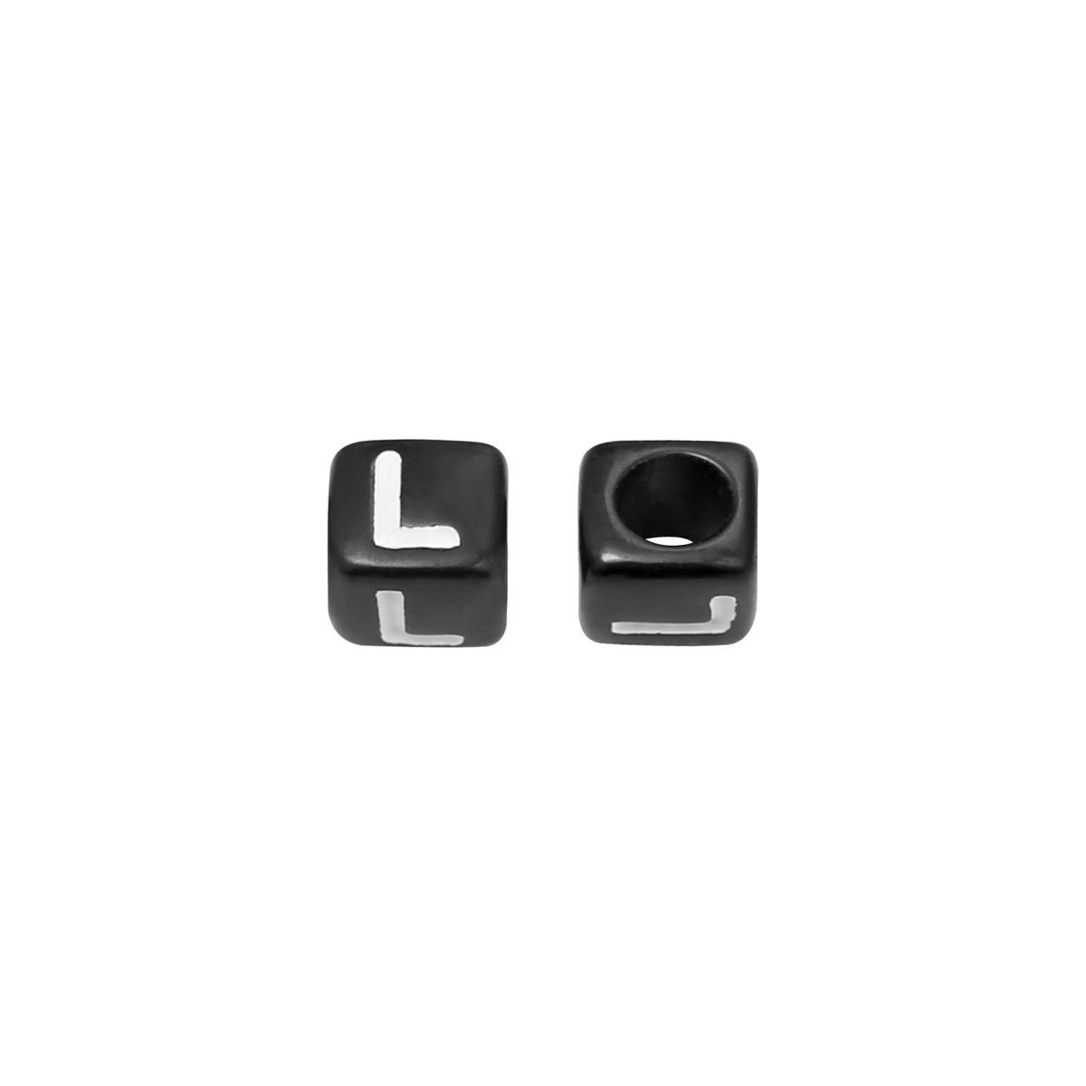 Perlen diy letter l - 6mm