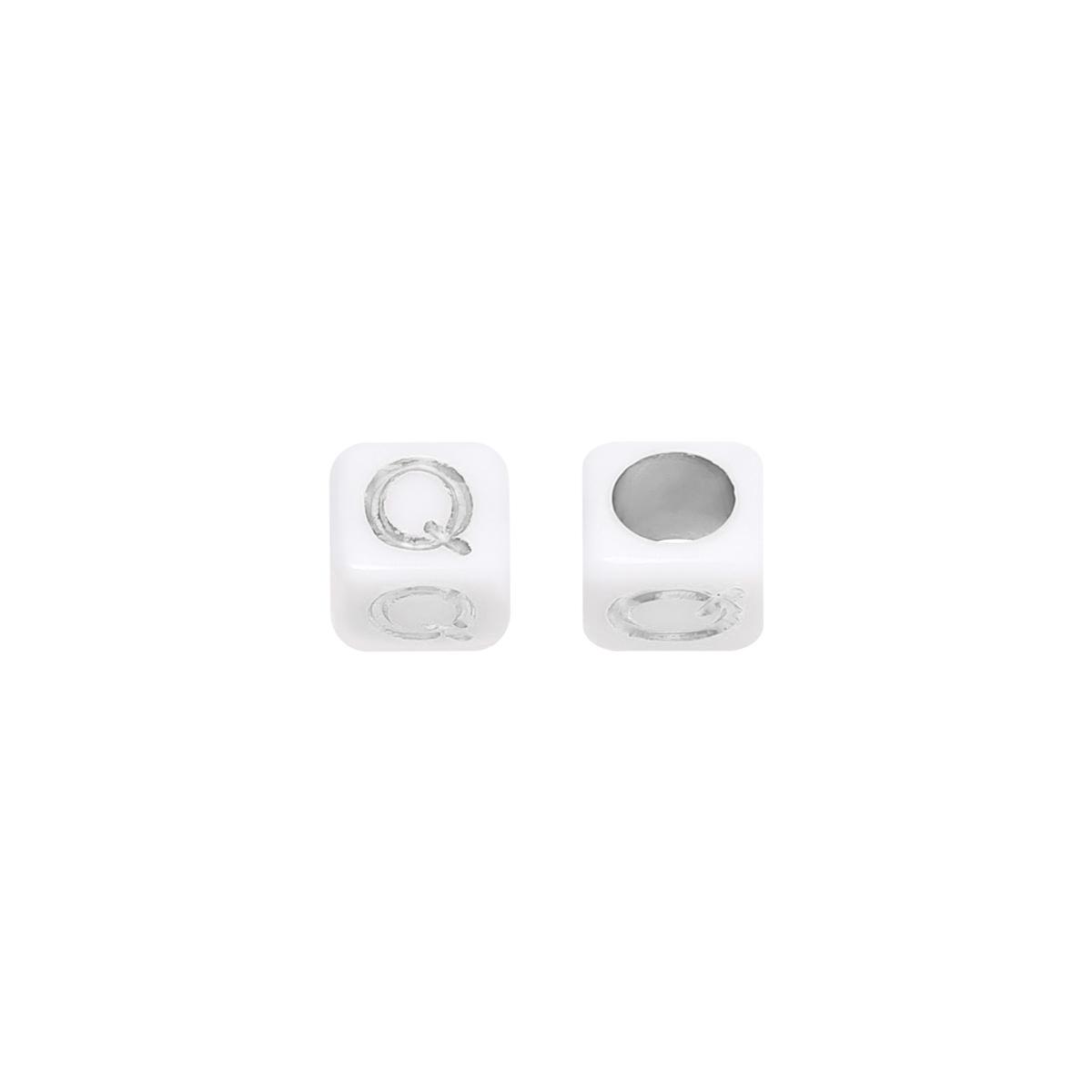 Perlen diy letter q - 6mm