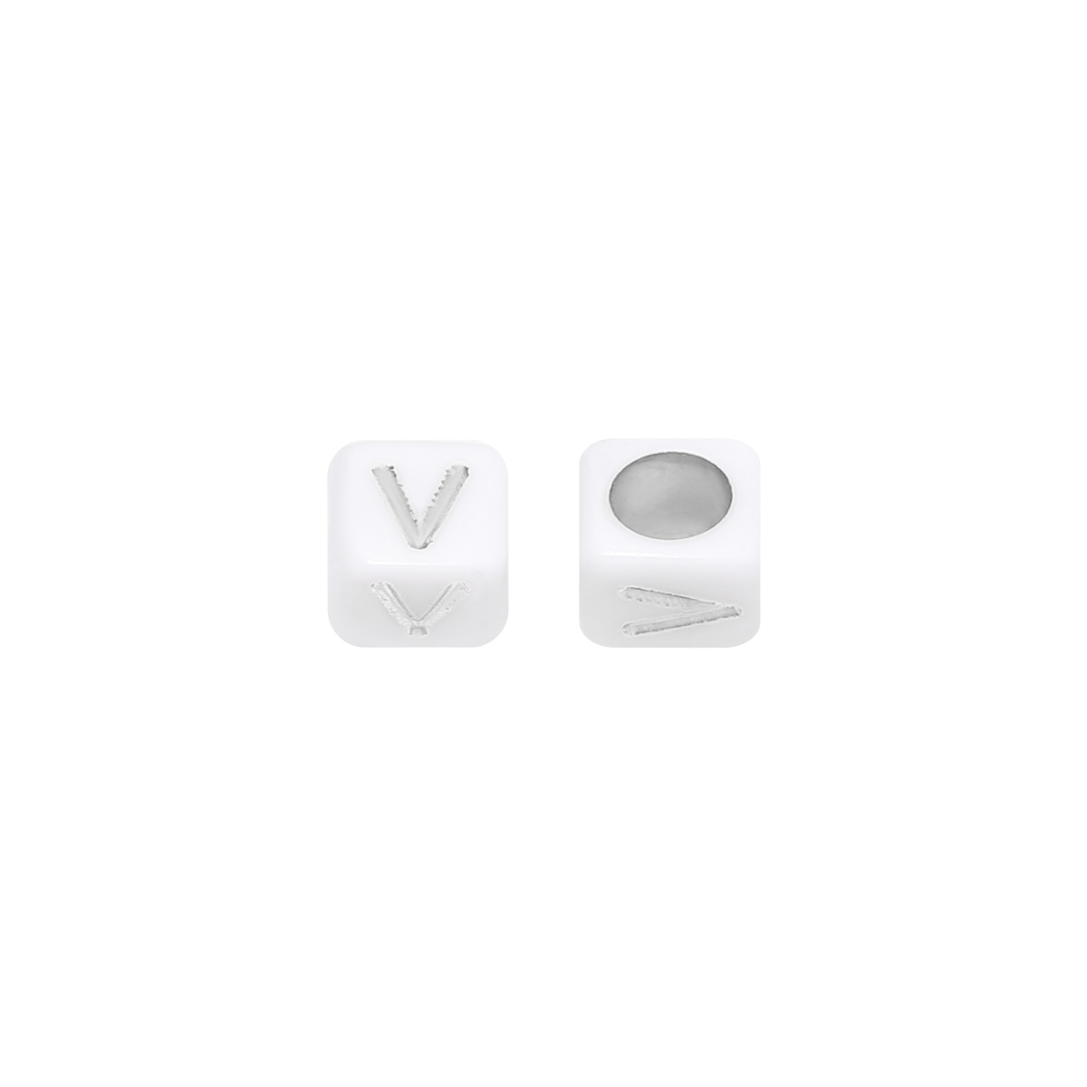 Perles DIY Letter V - 6MM