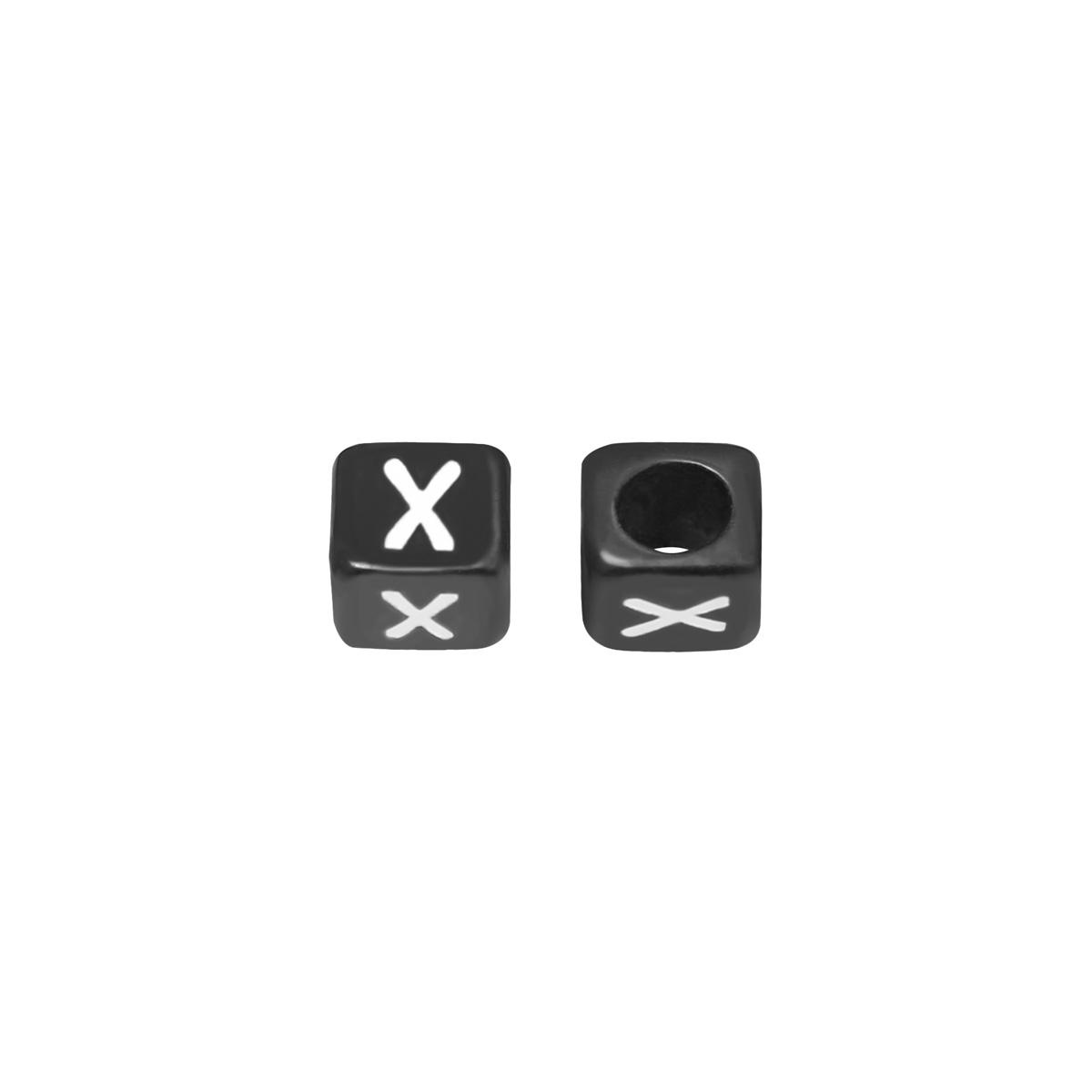 Kralen DIY Letter X - 6MM