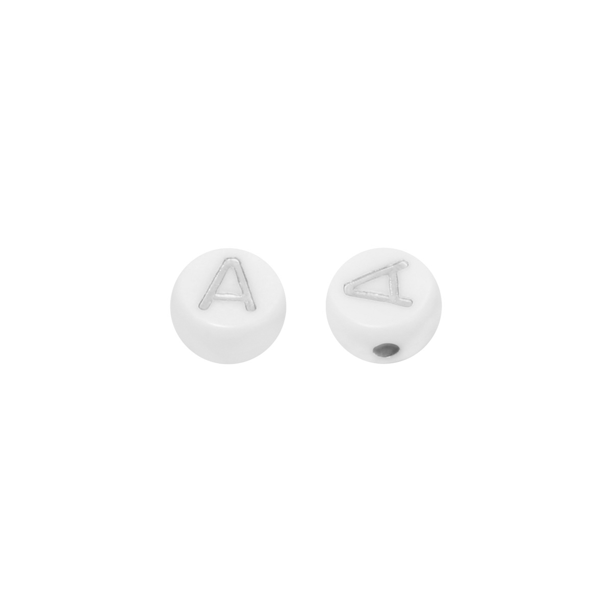 DIY Flat Beads Letter A - 7MM
