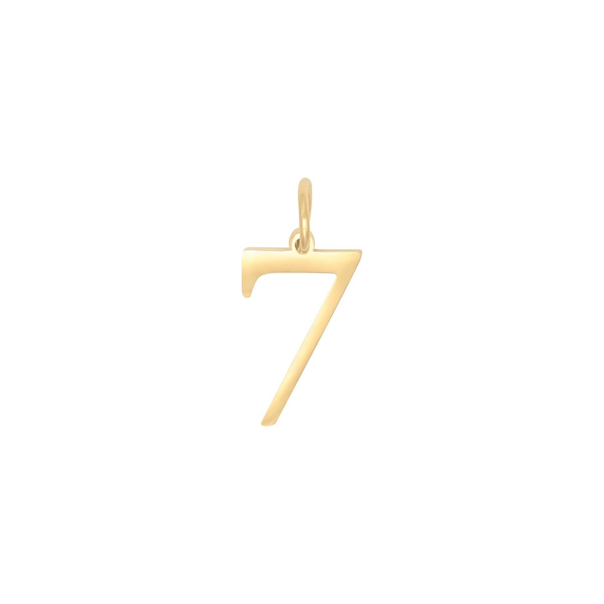 Diy charm digits gold - 2