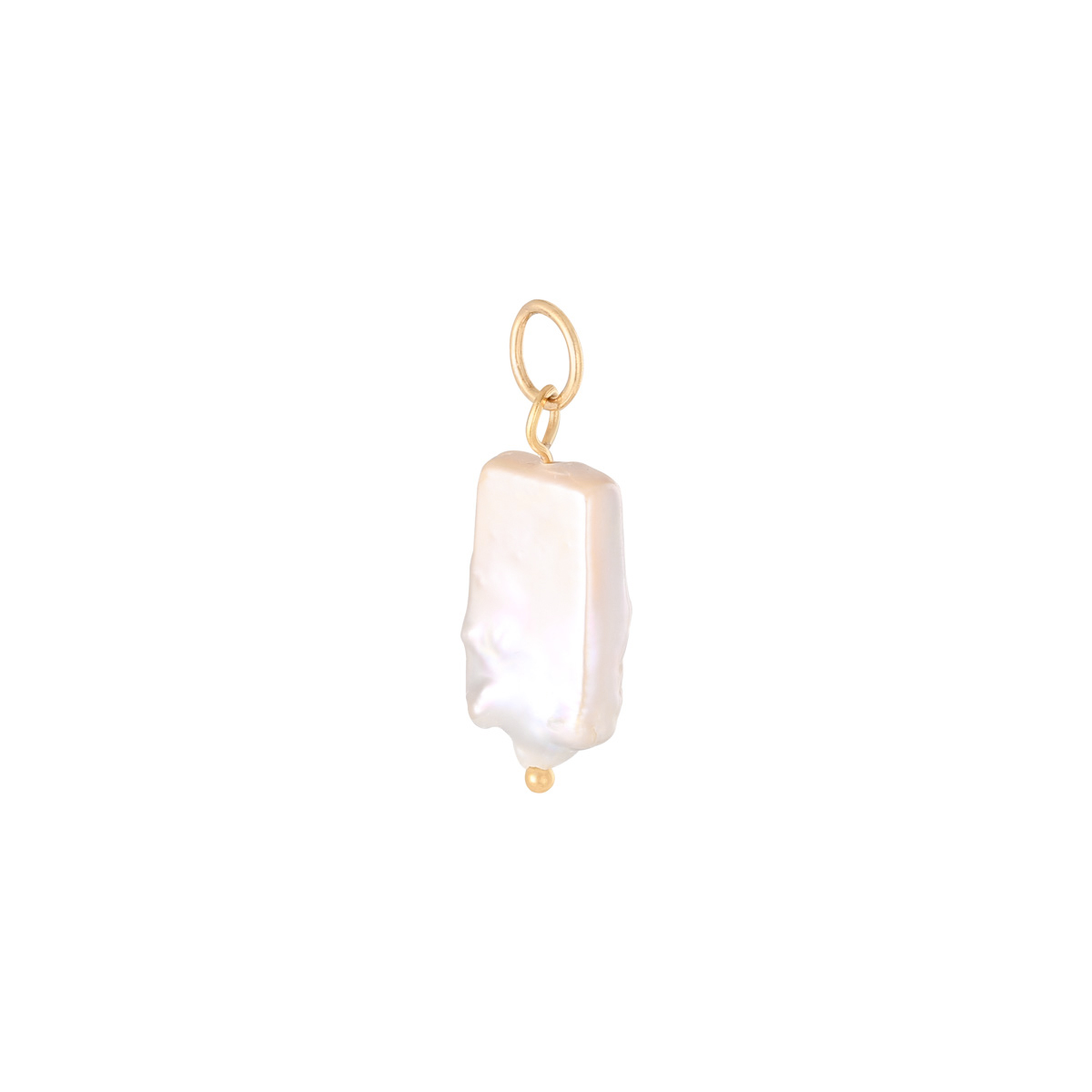 DIY Charm Pearly Stone