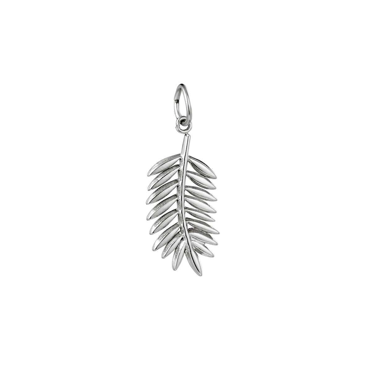 Diy charm leaf