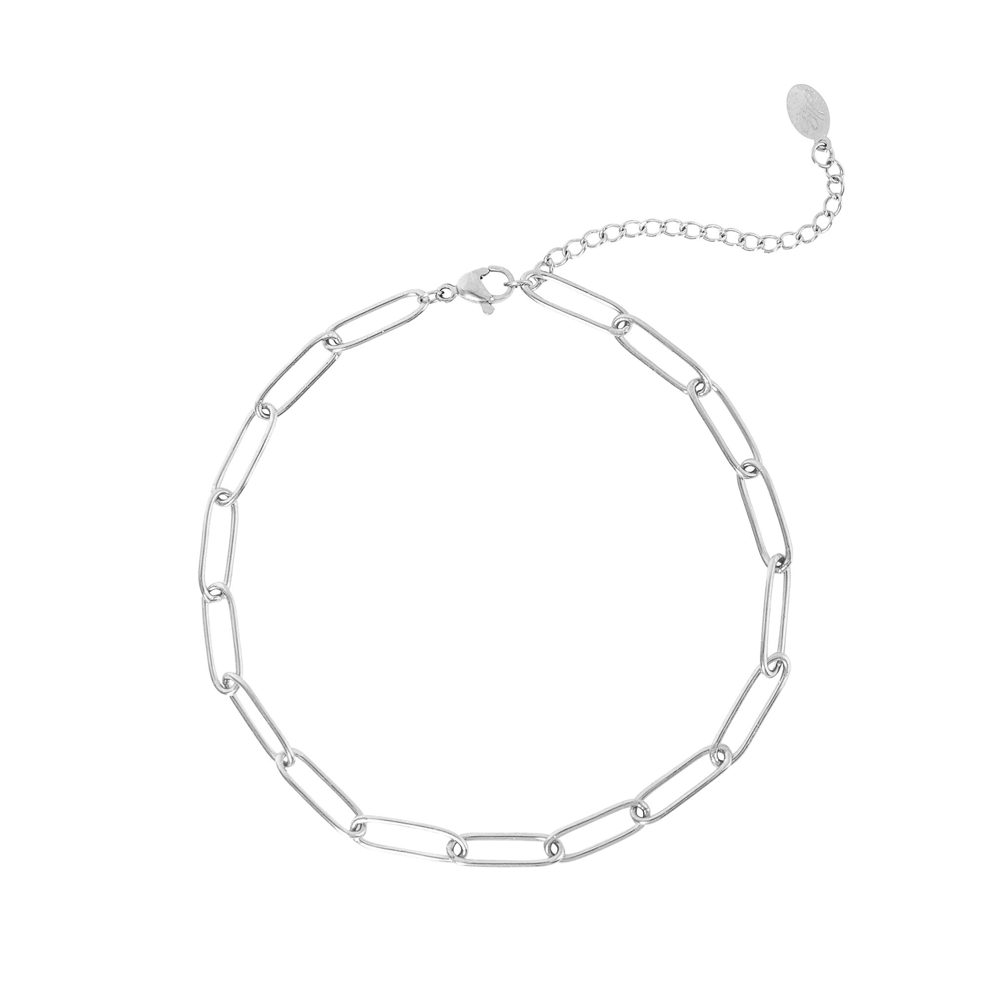 Fußkette plain chain