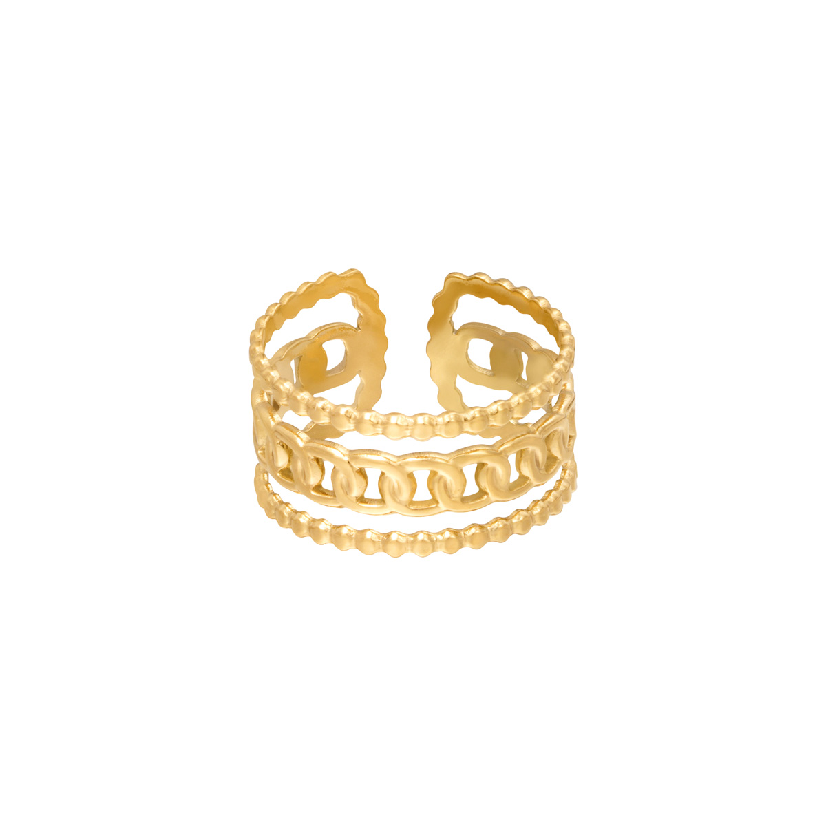 Ring triple chains