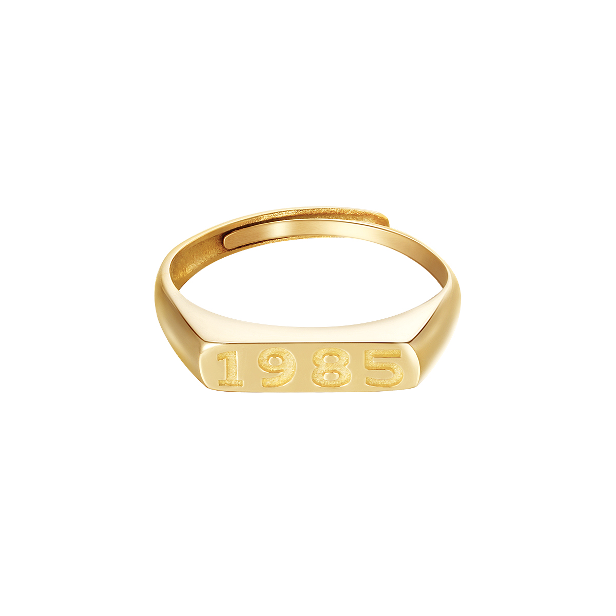 Anillo Year Of Birth Oro - 2005