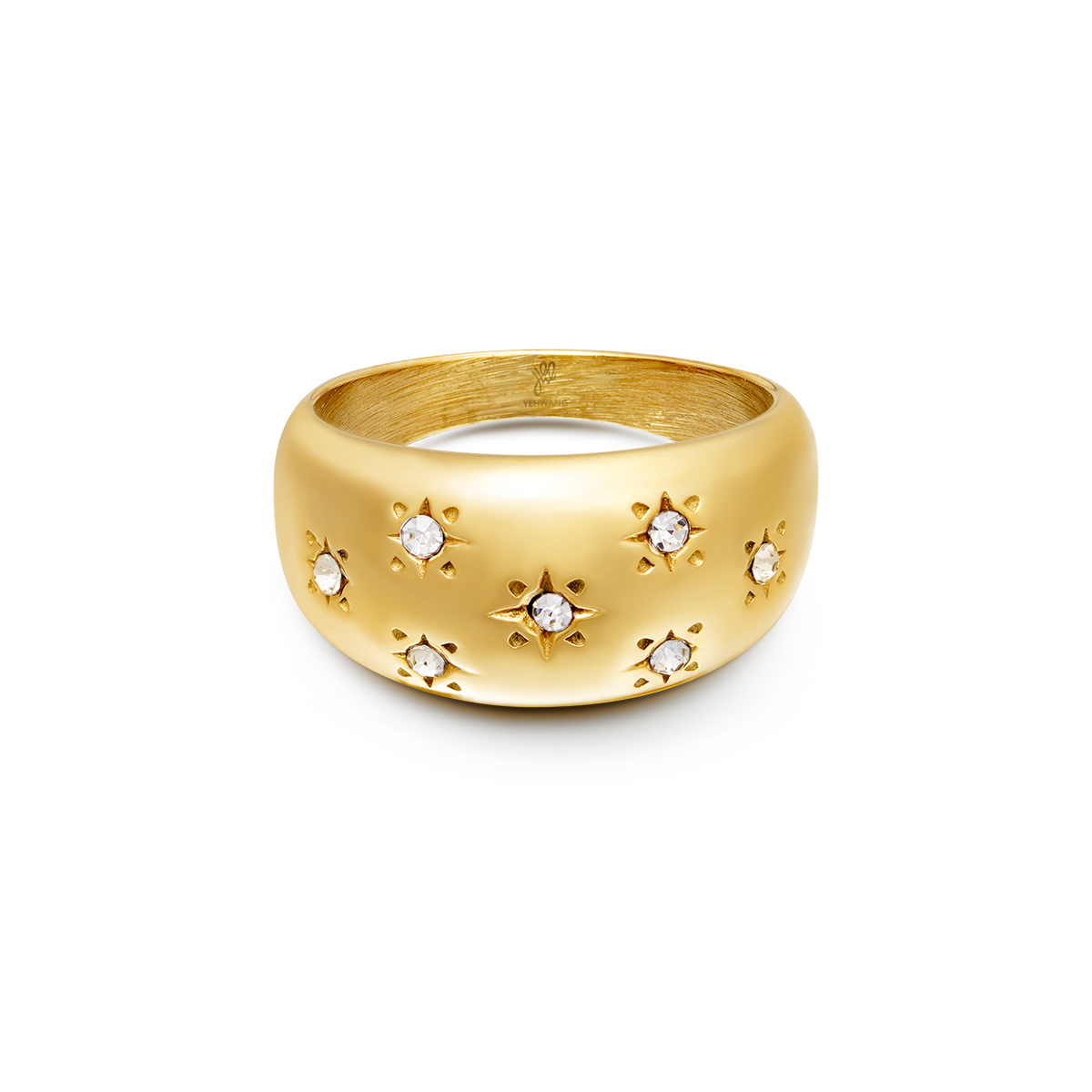 Anillo Diamond Flowers