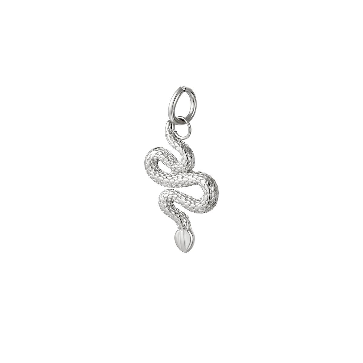 Colgante serpiente de acero inoxidable