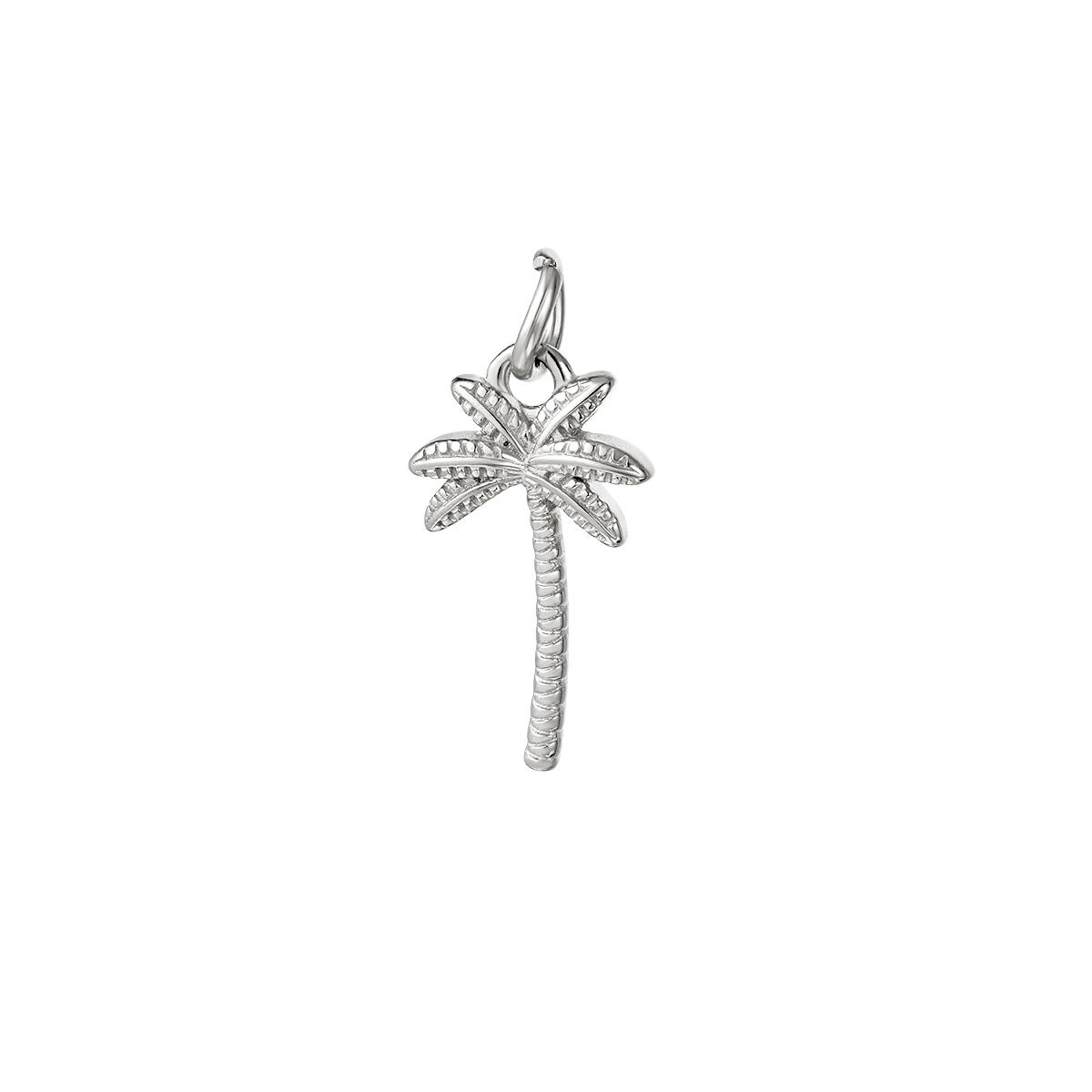 Palm hanger zilver
