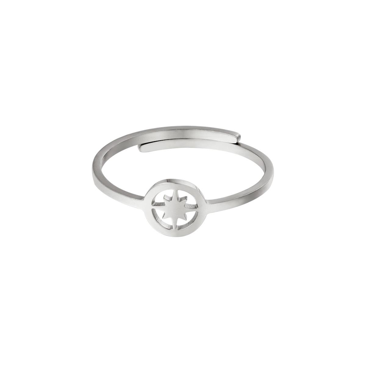 Verstelbare ring open ster