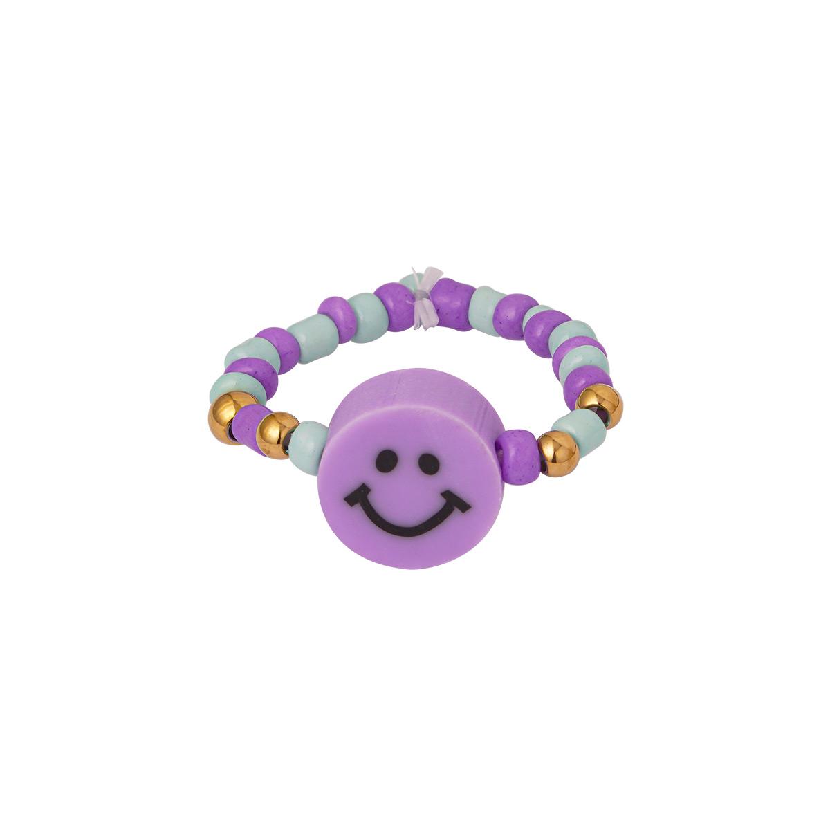 Perlen-smiley-ring
