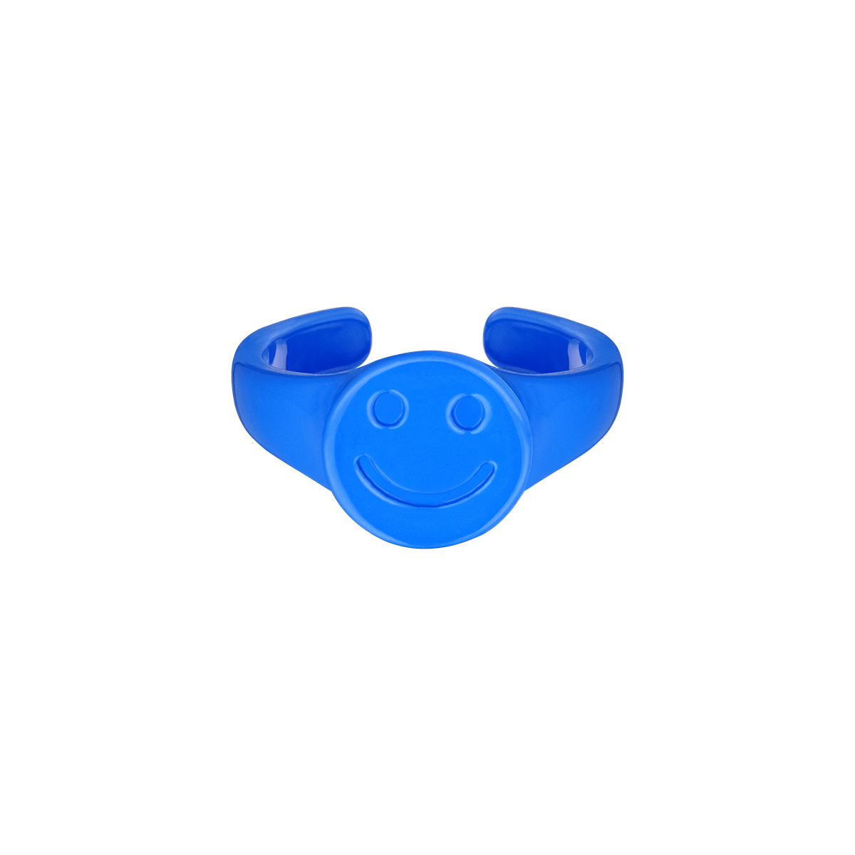 Candy ring smiley face