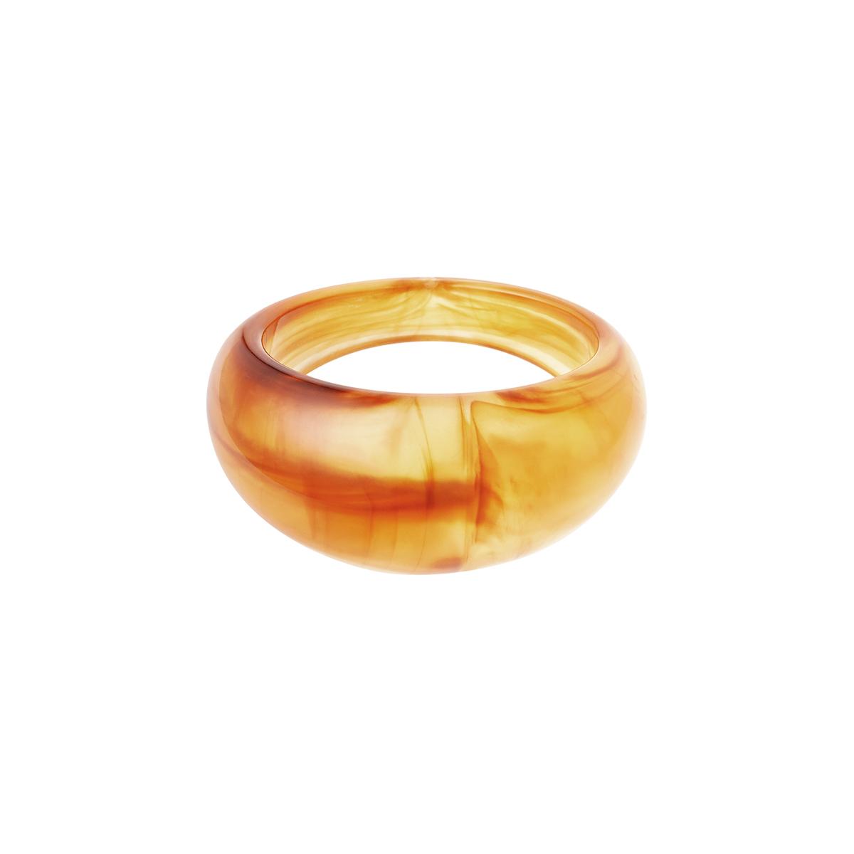Anillo de resina polivinílica redondo
