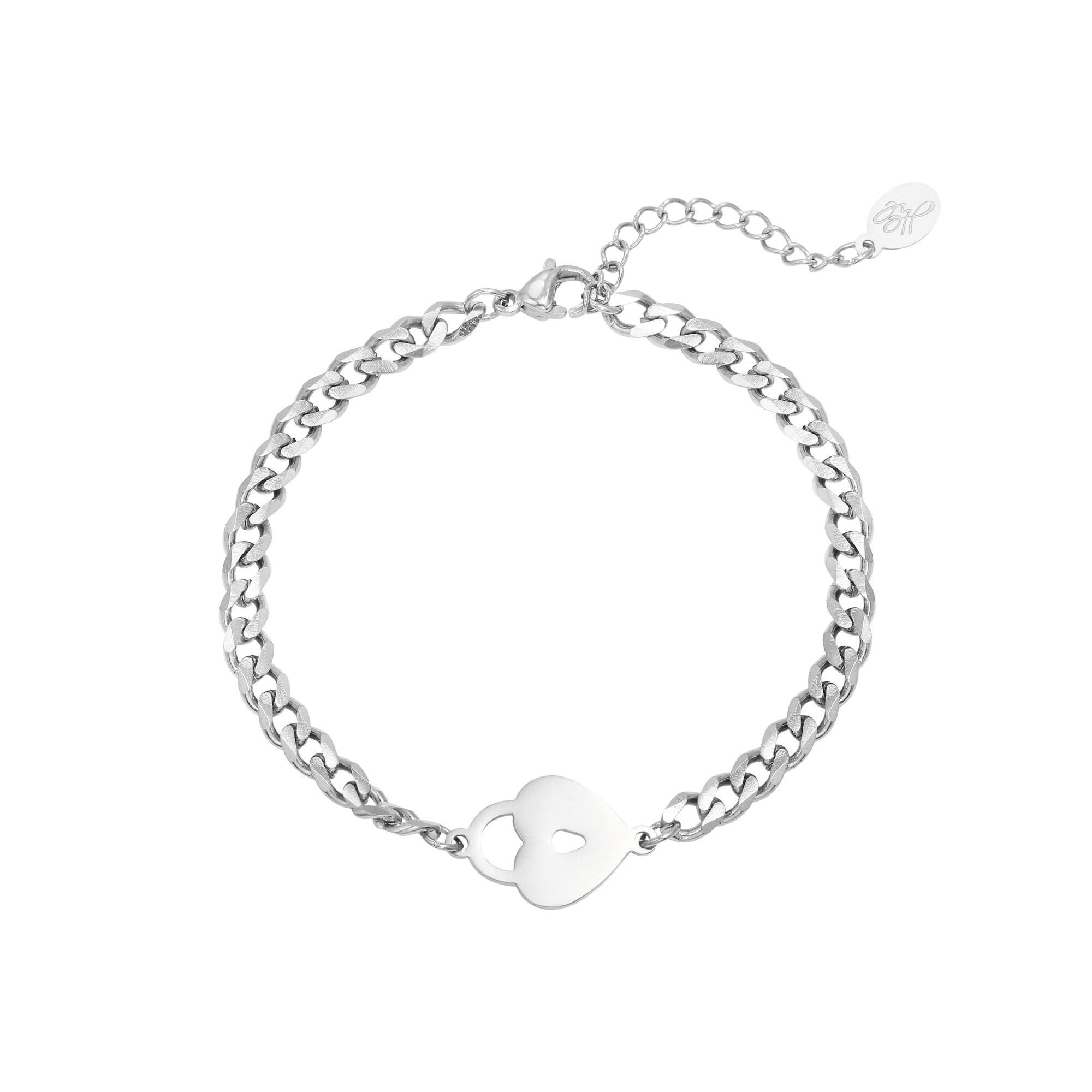 Bracelet Locked Heart